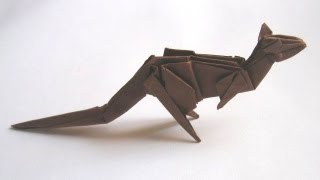Origami Kangaroo By Stephen Weiss (part 1 Of 2)
