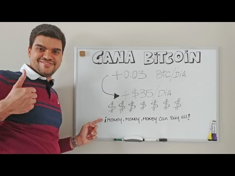 Gana Dinero Con bitcoin 2017 - +0.03BTC/DIA (+35$/dia)   Invertir En BITCOINS 2017 VER VIDEO de YouTube · Duración:  13 minutos 11 segundos