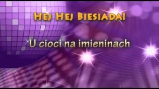 Przyśpiewki Weselne - U cioci na imieninach - Muzyka Biesiadna - całe utwory + tekst piosenki
