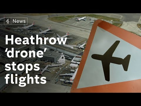 Heathrow 'drone sighting' disrupts departures