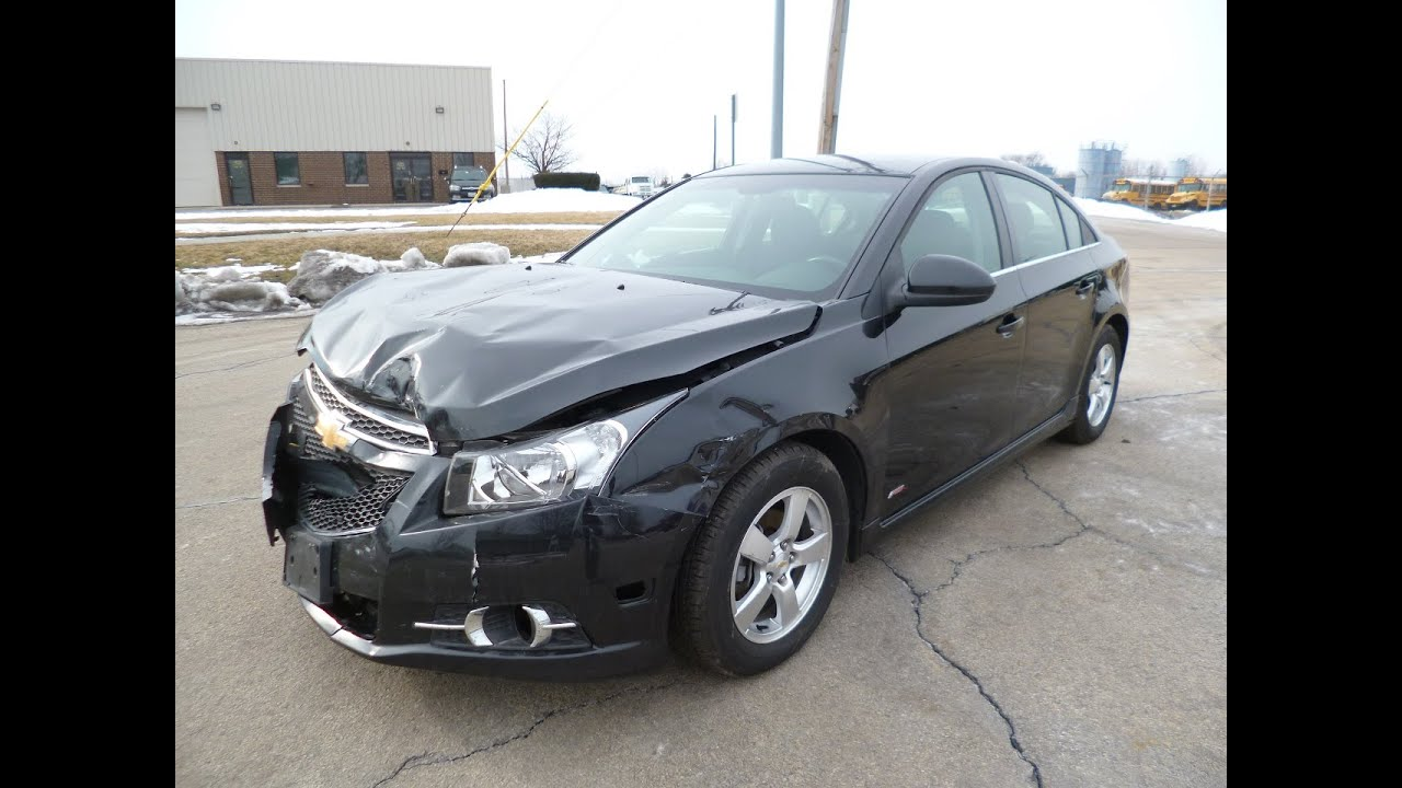 2011 chevy cruze lt turbo 69k miles drives repairable. Black Bedroom Furniture Sets. Home Design Ideas