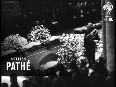 Princess Wilhelmina's Funeral (1962)
