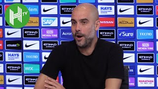 Pep Guardiola laughs off Liverpool pitch 'sabotage' suggestions