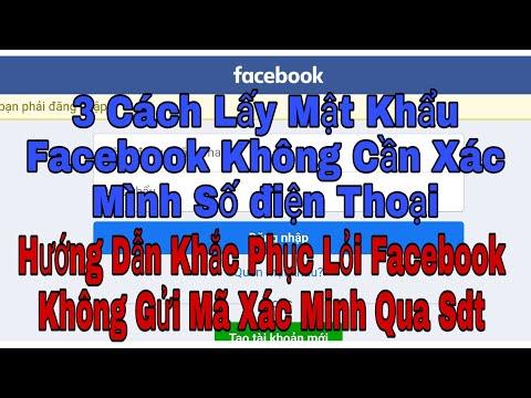 cách hack nick facebook bằng số điện thoại - Facebook Cách Xác Minh Tài Khoản Không Cần số Điện thoại Gmail | Bank tv