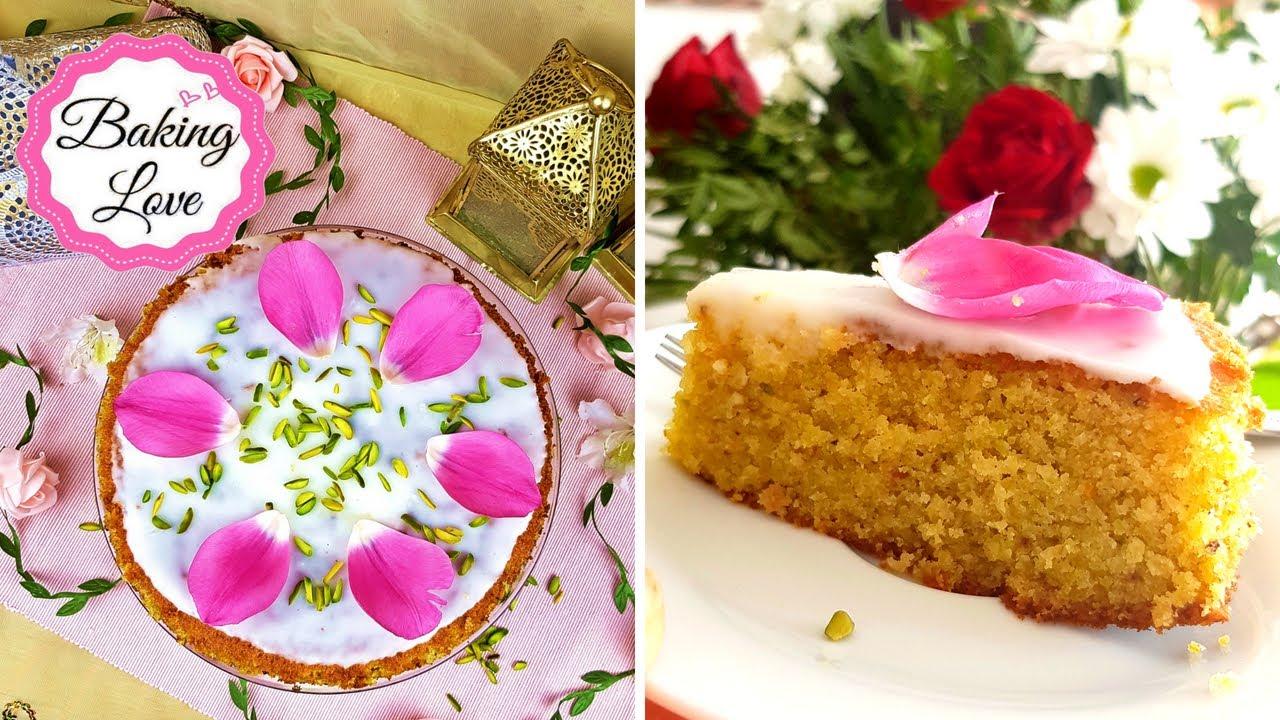 Orientalischer Pistazien Orangen Kuchen Mit Kokos I Orientalischer