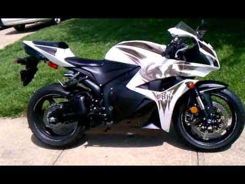 2009 honda cbr 600rr limited phoenix edition youtube