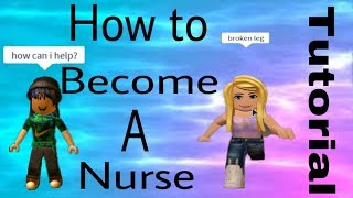 ROBLOX TUTORIAL//Come essere un infermiere in Robloxian General Hospital
