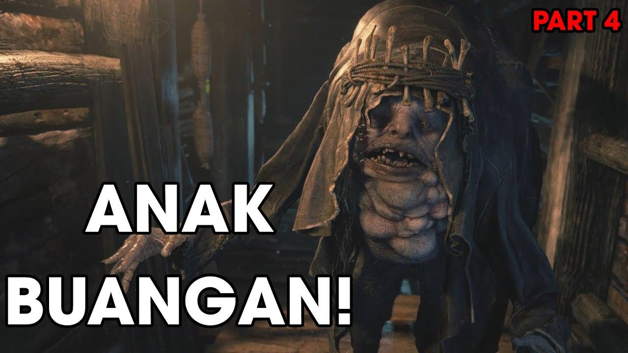 CARI PERHATIAN MAMA!   Resident Evil VIllage (2021) Hardcore Part 4