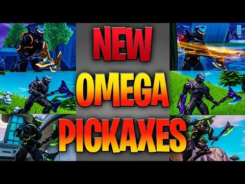 THESE NEW OMEGA PICKAXES ARE INSANE (Omega Skin Combos)