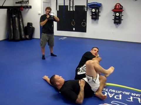 FrankMir standing to leg bar.avi