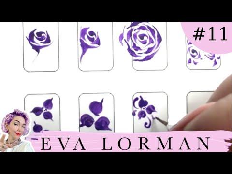 Уроки рисовать на ногтях видео уроки