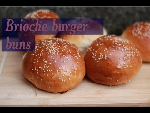 How to make brioche buns, plus my new schedule