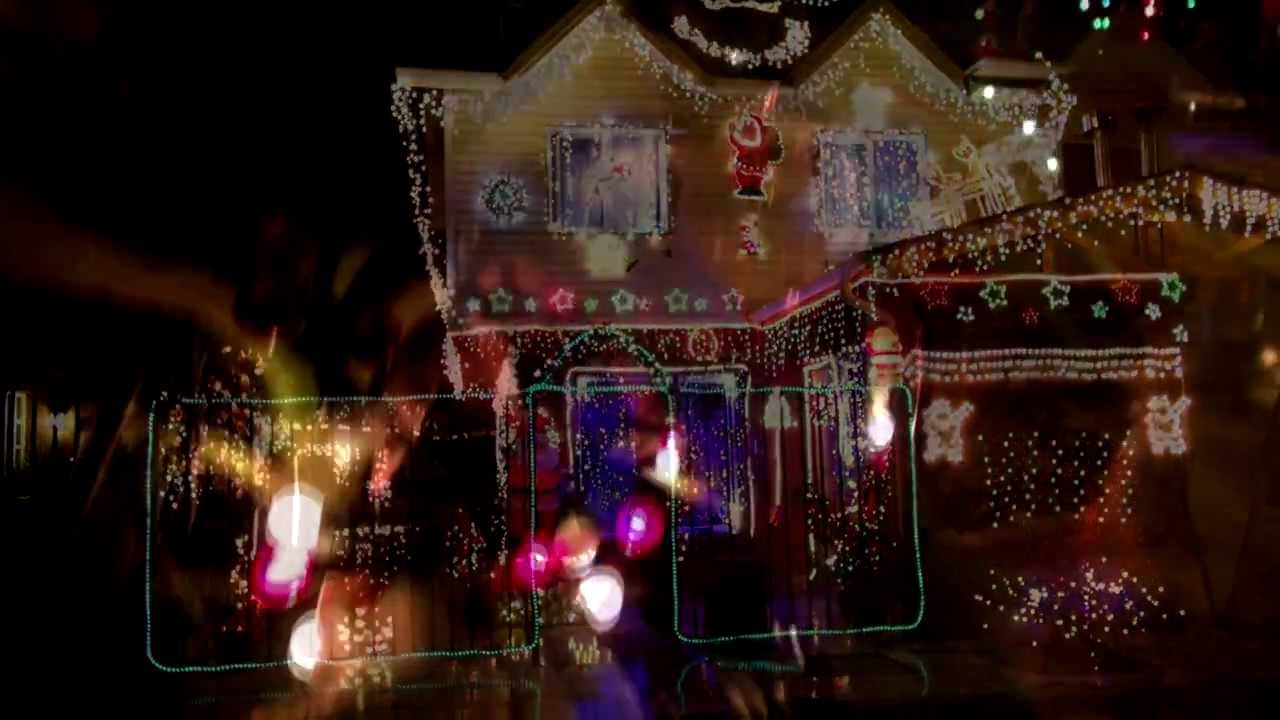 Nuestra casa iluminada en la navidad del 2012 casa m s - La casa de la navidad ...