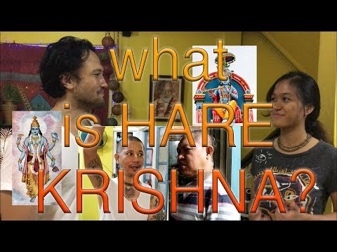 HARE KRISHNA IN THE PHILIPPINES - PURE BHAKTI YOGA Part 1 | Dadventures T.V.