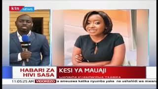 Jackie Maribe arejea mahakamani, anakabiliwa na mashtaka ya mauaji