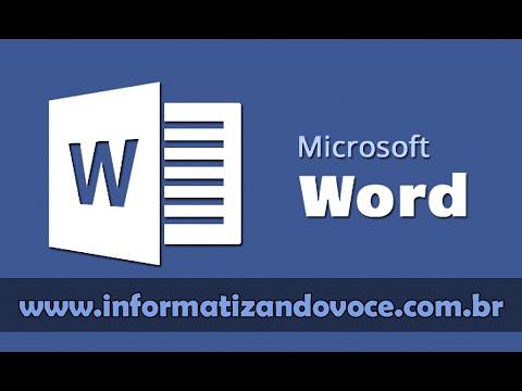 Noções básicas do microsoft word