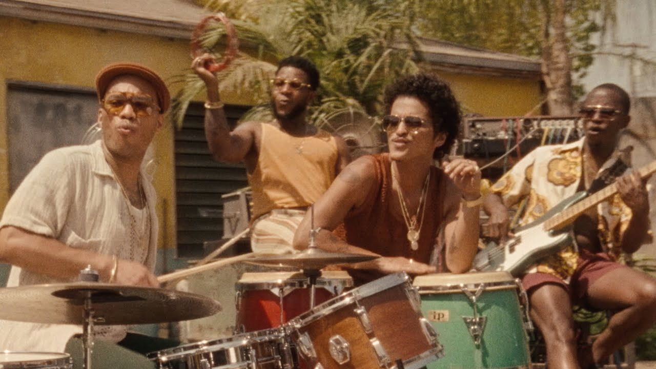 Bruno Mars Anderson Paak Silk Sonic  Skate Official Music Video