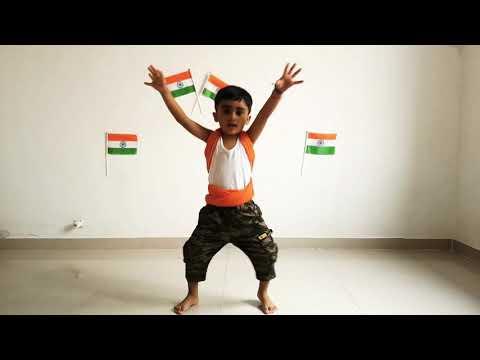 Vande Mataram Dance#A.R.Rahman song#Maa Tujhe Salaam 🙏🙏#best dance by Jeevansh Jawla