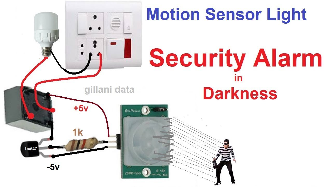 Motion Detector Sensor Light Switch