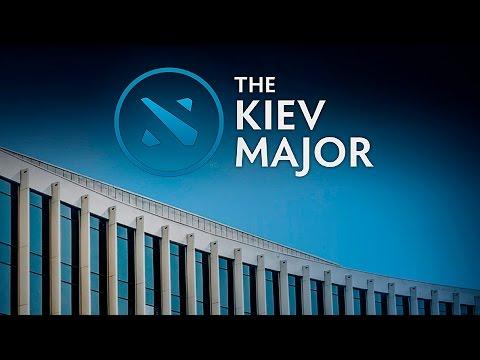 Newbee vs Random - Kiev Major Group - G2