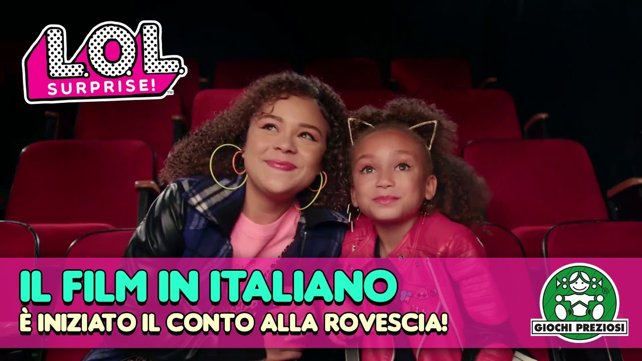 L.O.L. Surprise! Big Screen ⭐️2 ur Screen ⭐️ Il Film in Italiano: è iniziato in conto alla rovescia!