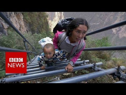 China's uphill struggle fighting extreme poverty - BBC News