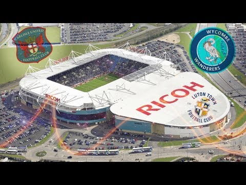 Top Ten Biggest League Two Football Stadiums! (17/18)