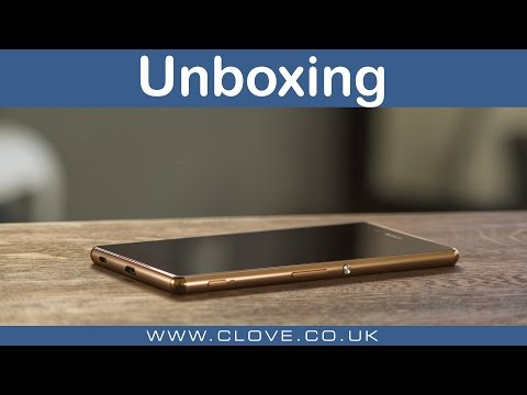 Sony Xperia Z3+ Unboxing
