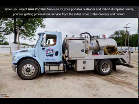 AAA Portable Services | Wichita, KS | Portable Toilets