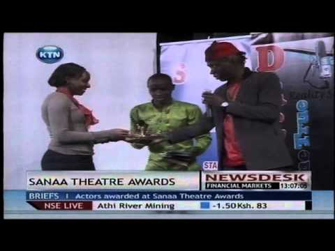 Sanaa theatre awards 2013 at Alliance Francaise