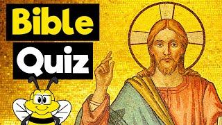 Bible Trivia Quiz - BËST Old & New Testament (Jesus) Quiz - 20 Bible Questions & Answers - 20 Facts