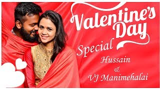 Couple Share Their Love Story! Cooku with Comali Manimegalai & Hussain Fun Interview And Live Dance!