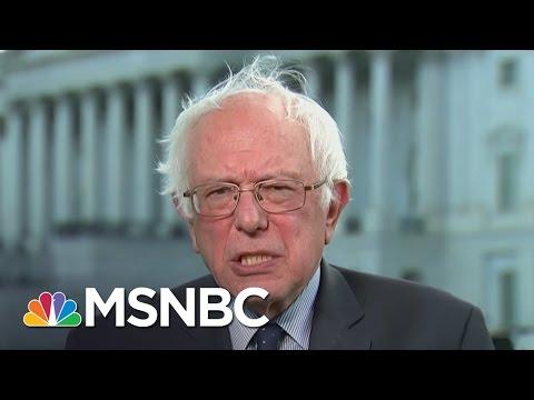Bernie Sanders Sounds Off On Donald Trump