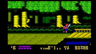 Let's Play NES Double Dragon!!!! Live Commentary!!