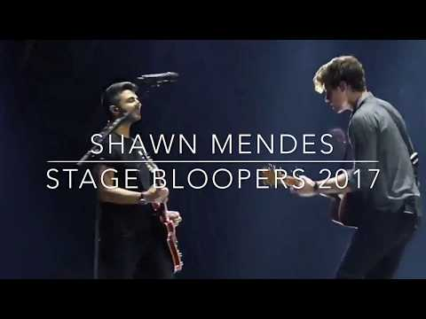 UNSEEN STAGE BLOOPERS SHAWN MENDES 2017 | MendesLyrics
