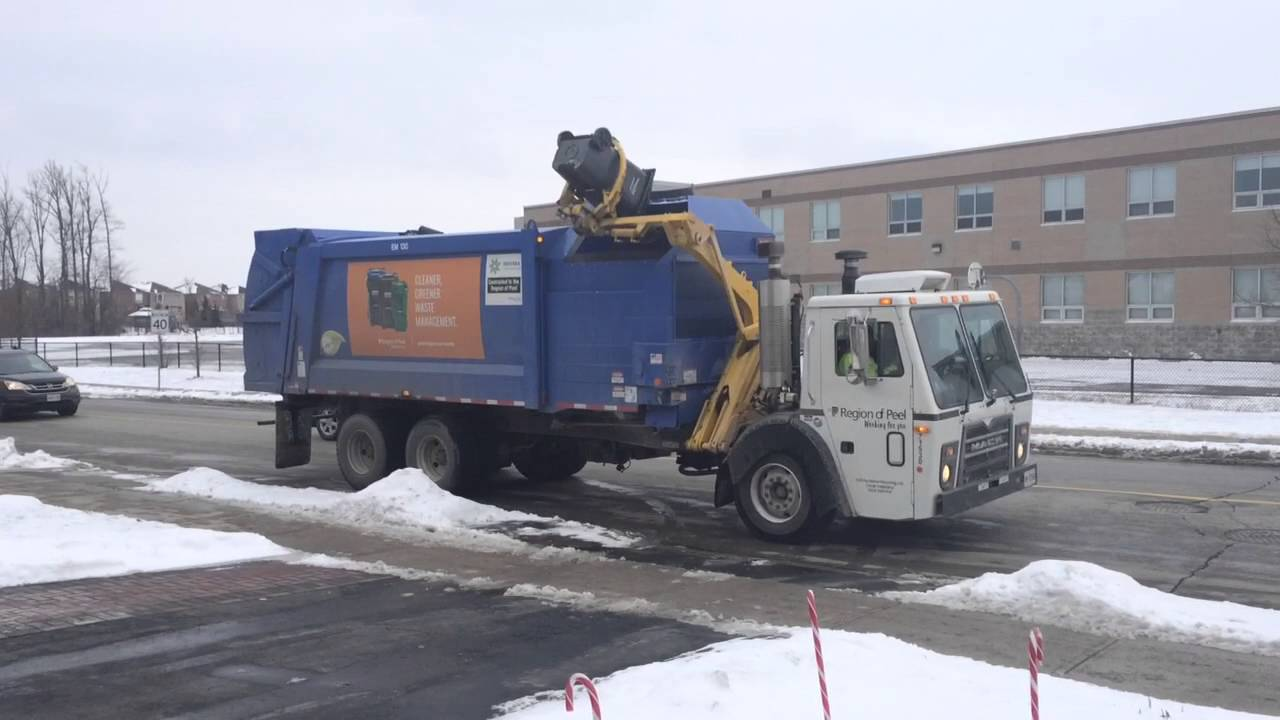 New Garbage Pick Up System Youtube