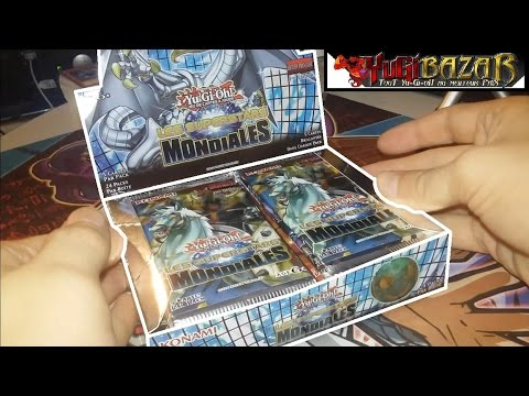 Ouverture Display Les Superstars Mondiales (WSUP) Cartes Yu-Gi-Oh