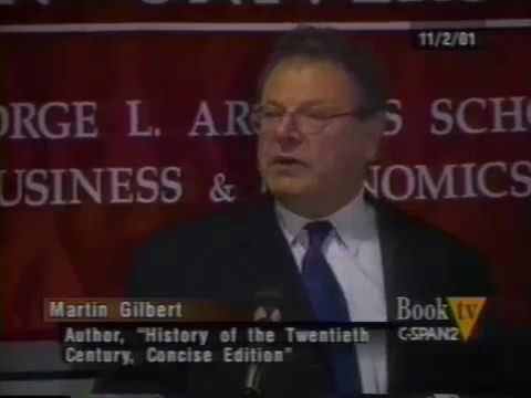 Martin Gilbert 'Jews in the 20th Century'