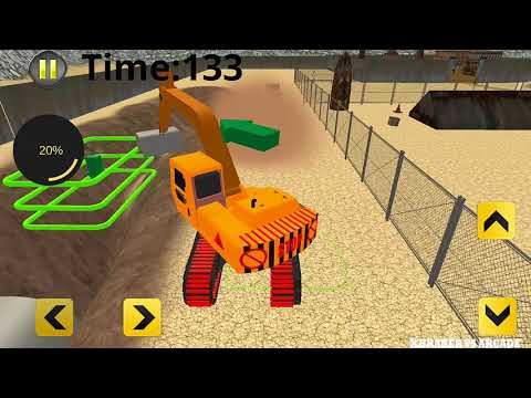 Heavy Duty Road Construction Machinery | Construction Simulator - Android GamePlay#3 HD