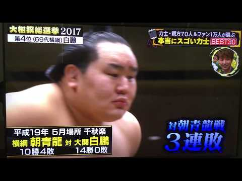 Top 30 Sumo Wrestlers -  #7 to #4