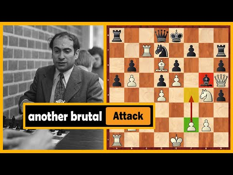 Another Brutal Attacking Game By The Legendary Mikhail Tal