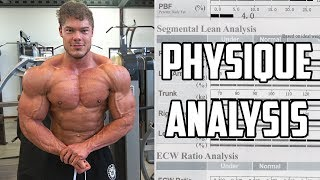 My Body Analysis - Muscle Mass - Symmetry - Fat Percentage and more!