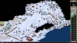 Red Alert 2 - Soviet Campaign - Polar Storm Walkthrough Gameplay
