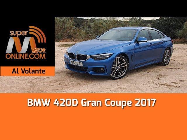 BMW 420D Gran Coupé 2017 / Al volante / Prueba dinámica / Review / Supermotoronline.com