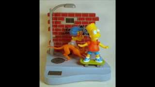 bart and millhouse talking alarm clock