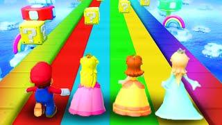 Super Mario Party - Minigames - Mario vs Luigi vs Daisy vs Rosalina (Master CPU)