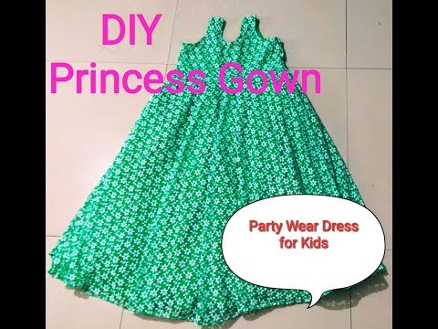 HOW TO SEW A DRESS FOR 5 YEAR OLD GIRL?DIY/S.A.GALLERY
