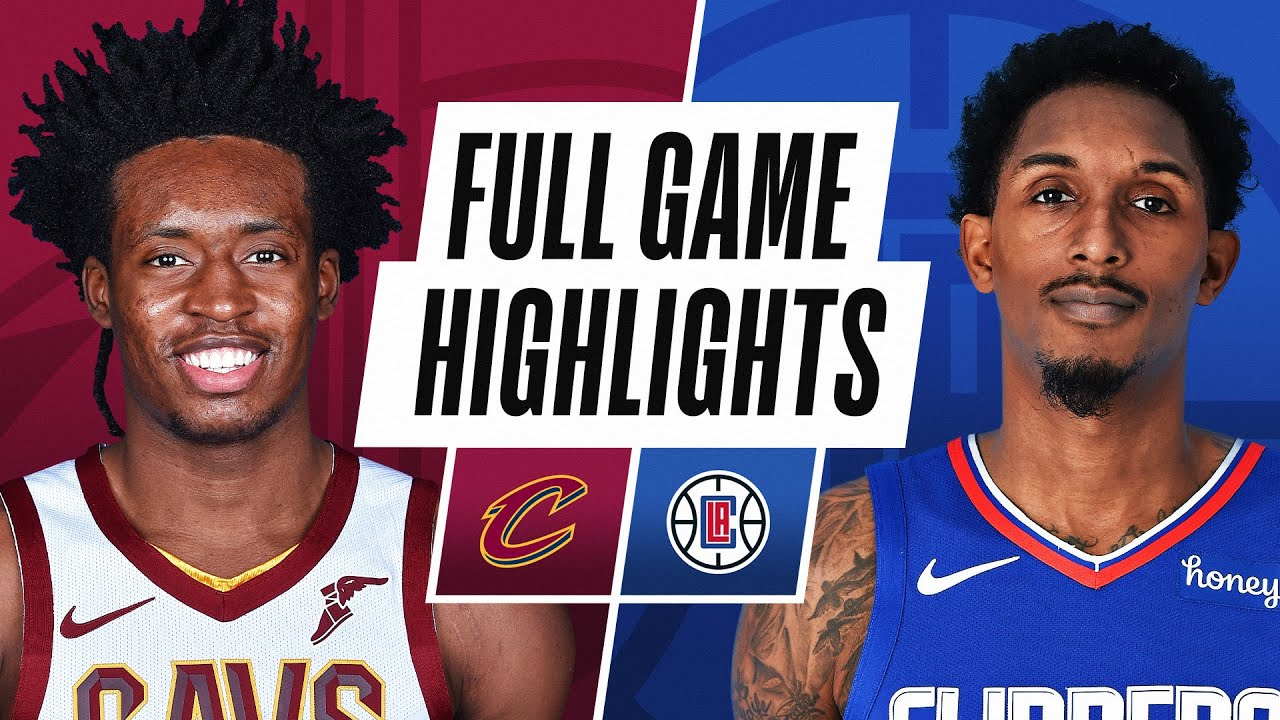 CAVALIERS at CLIPPERS | FULL GAME HIGHLIGHTS | February 14, 2021