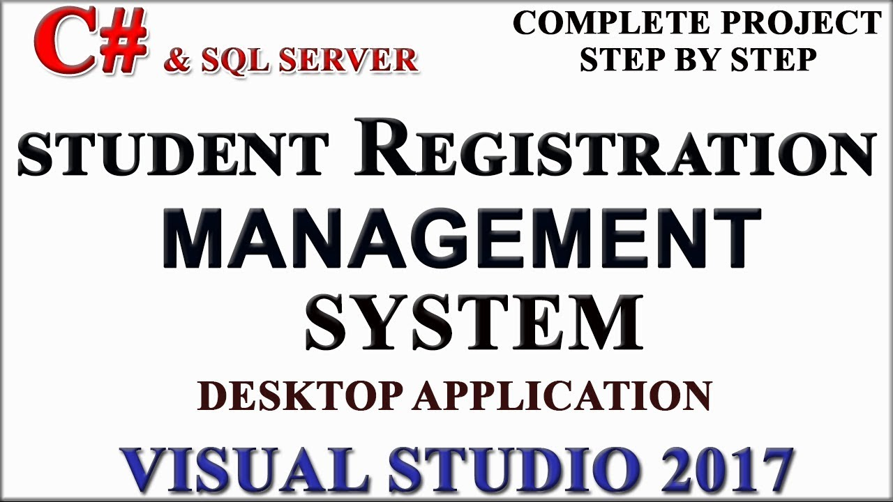 Student Registration Management System With Source Code In C And