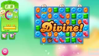 Candy Crush Jelly Saga Level 25 - No Boosters ★★★